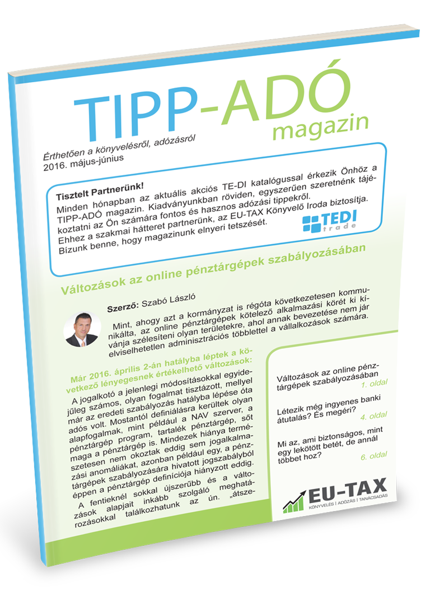 TIPP-ADÓ magazin