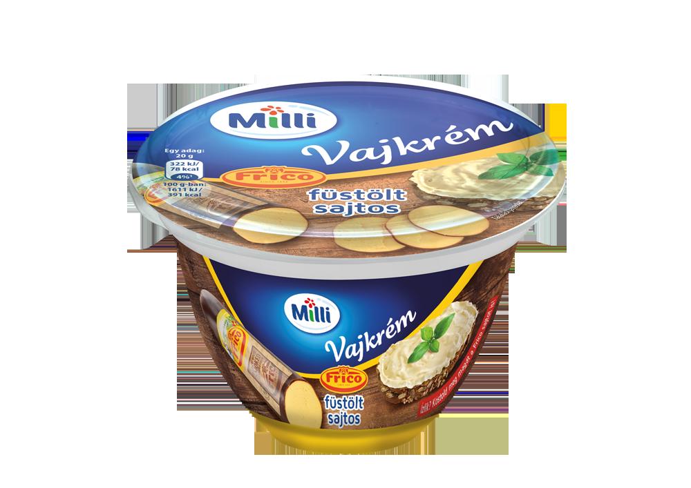FRIESLAND MILLI Vajkrém Frico füstölt sajtos 200g