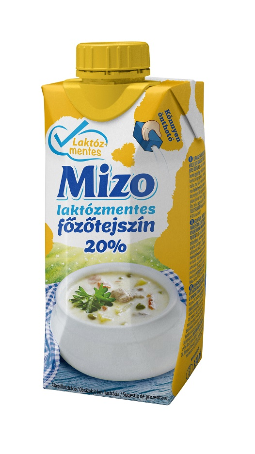 MIZO Laktozmentes UHT Fozotejszin 20% 330ml