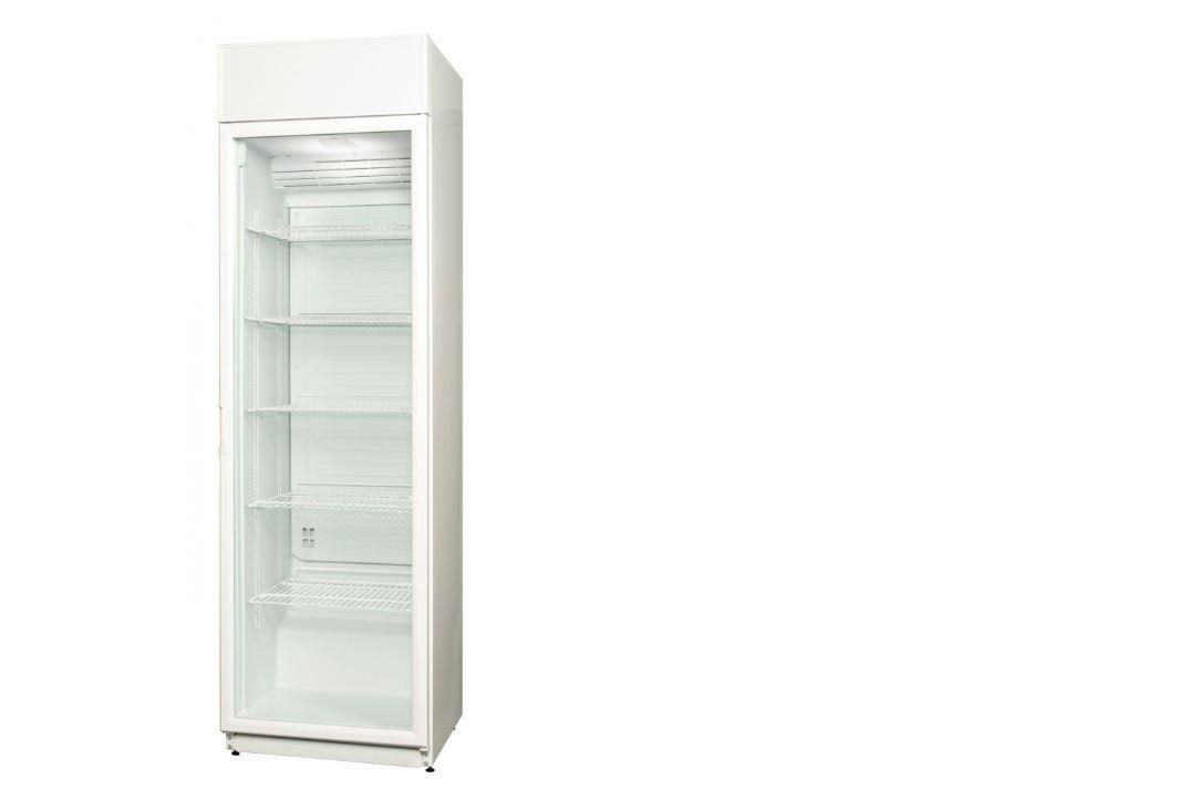 CD40DM Üvegajtós hűtővitrin 360 liter (600x600x2025mm)