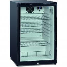 DKS 142 Üvegajtós hűtővitrin 130 liter (540x560x850 mm)