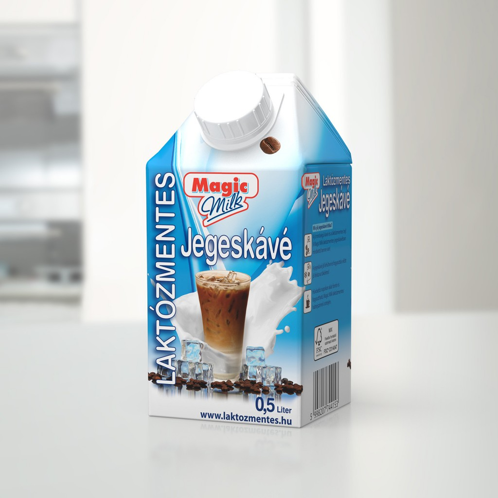 MAGIC MILK Laktozmentes UHT Jegeskave 500ml