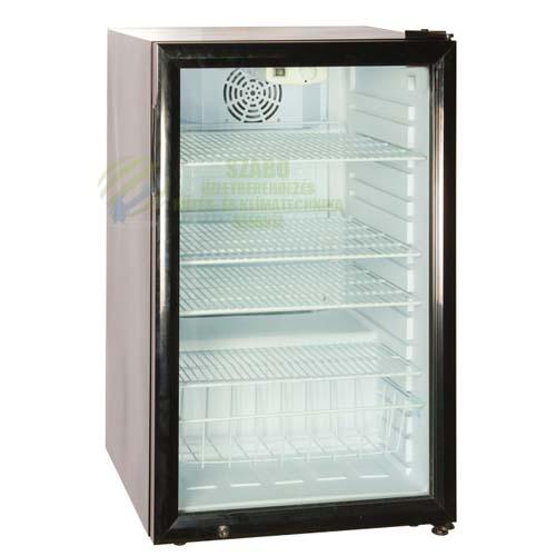 SC 130 Üvegajtós hűtővitrin 130 liter (540x560x850mm)