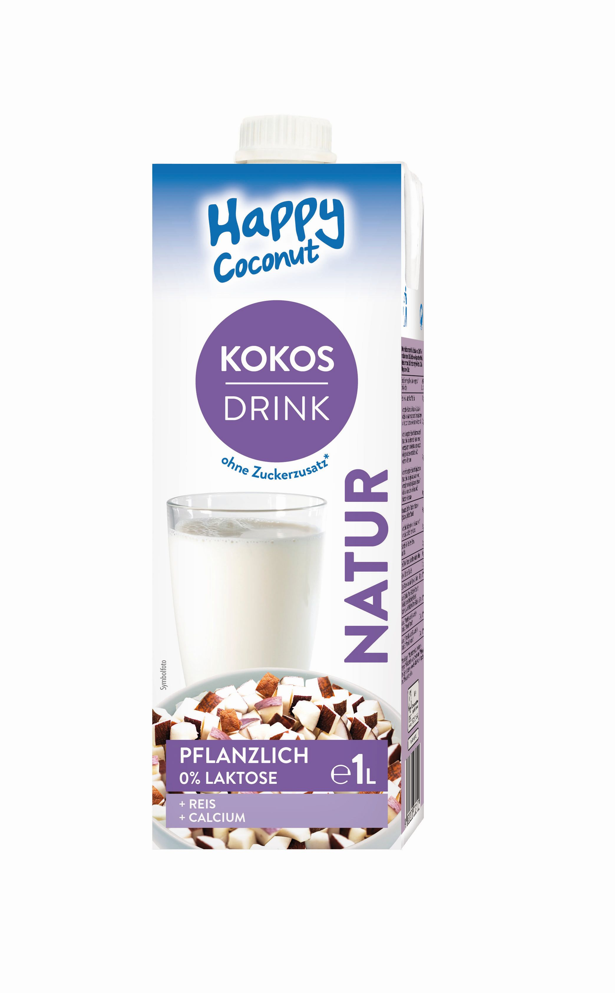 HAPPY Kokusz rizs ital kalciummal 1L