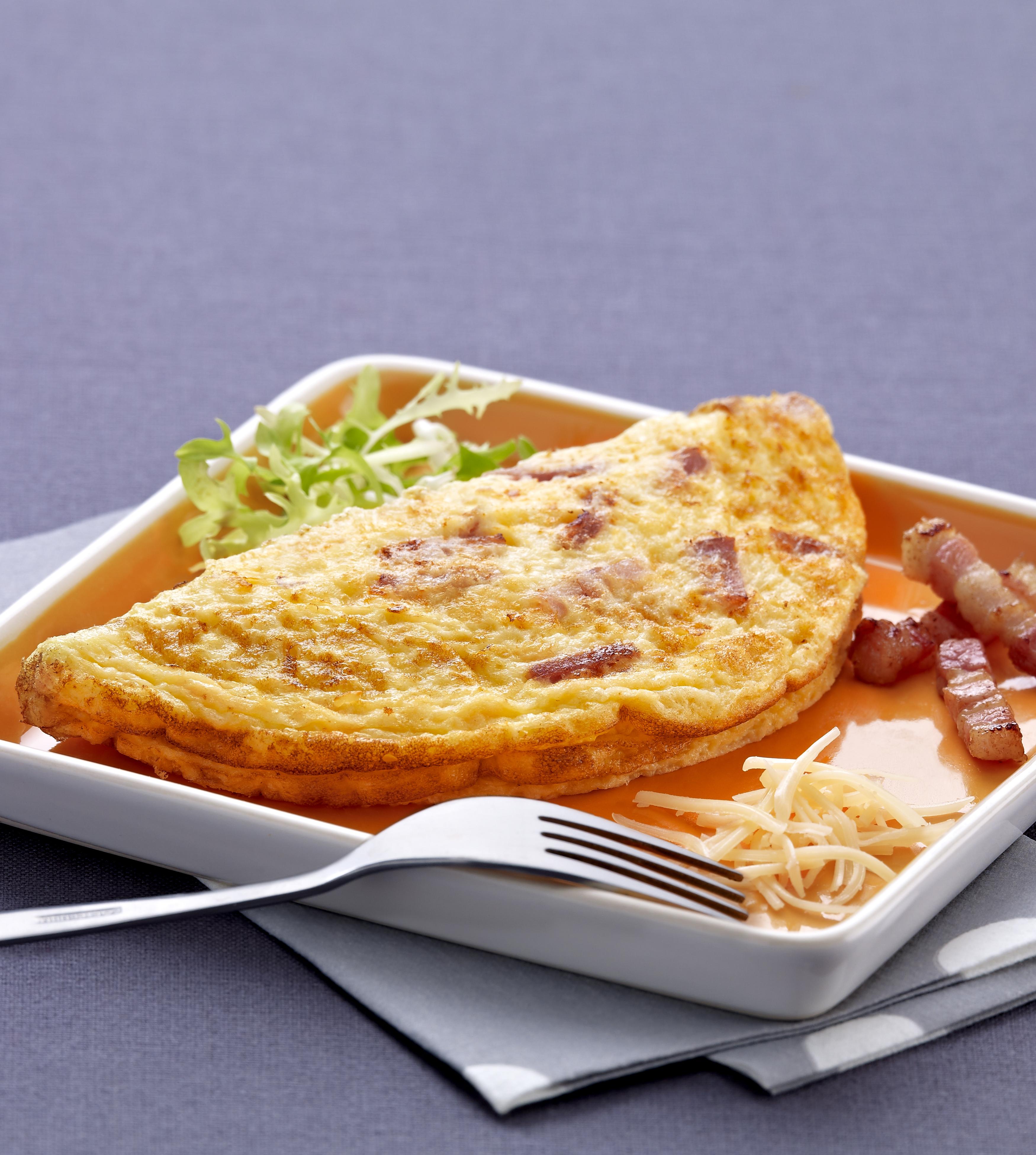 EGGPLANET COCCOTINE Fagyasztott szalonnas sajtos omlett 90g