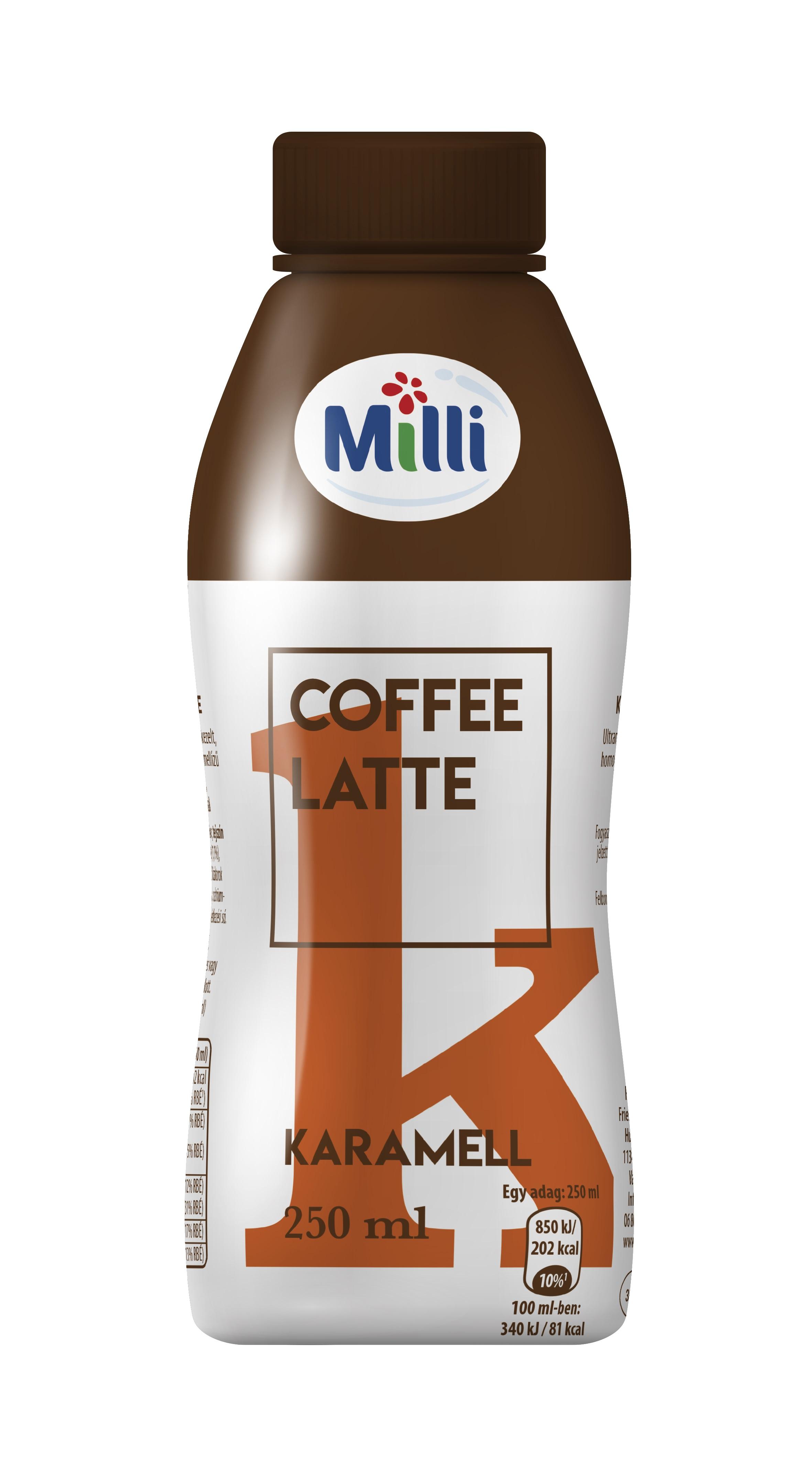 MILLI Cofee Latte tobb izben 250ml