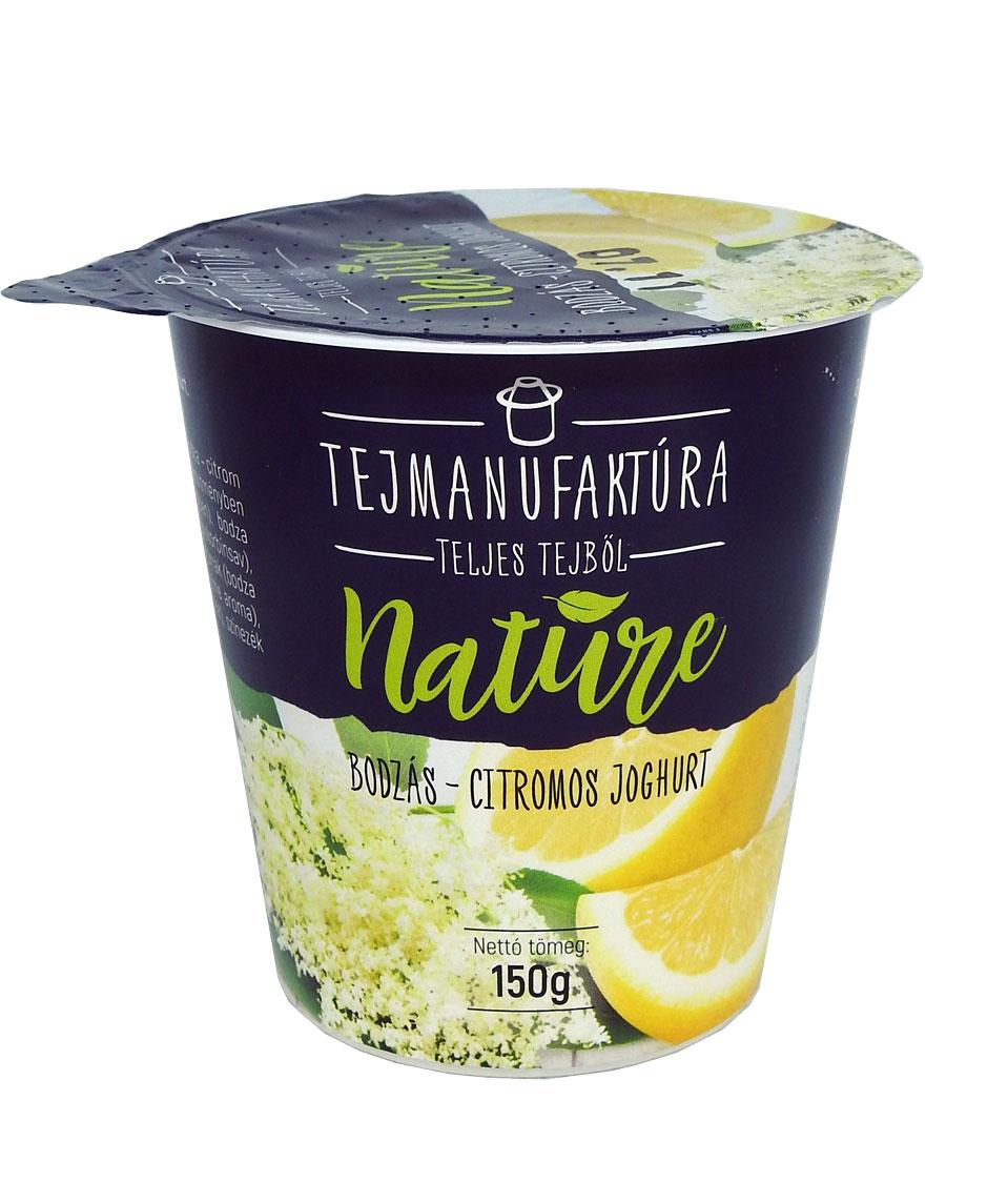 TEJMANUFAKTURA Nature joghurtok 150g