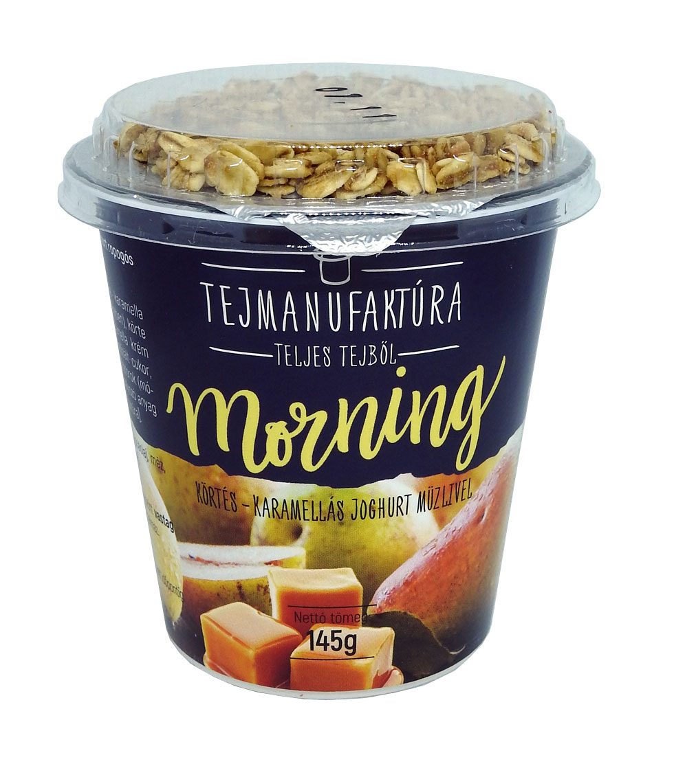 TEJMANUFAKTURA MORNING joghurtok 145g