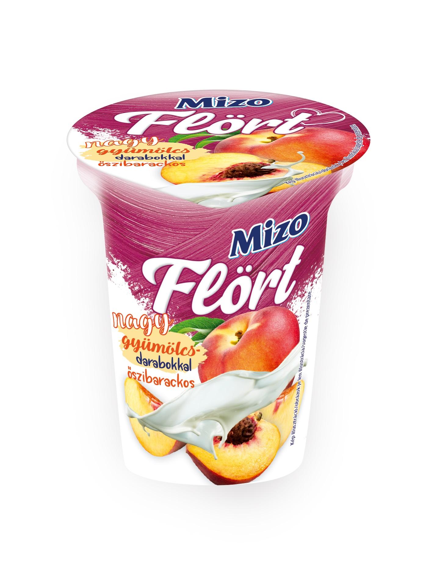 MIZO Flort nagy gyumolcsdarabos joghurtok 150g