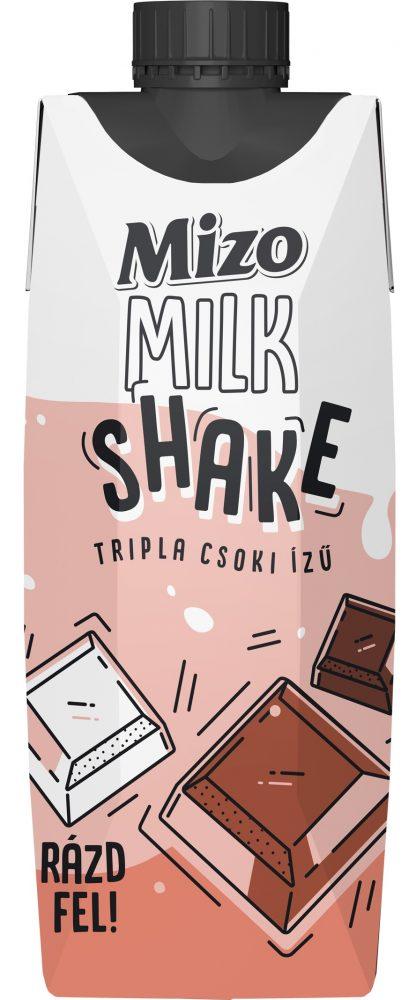MIZO Milk shake 315ml trippla csoki