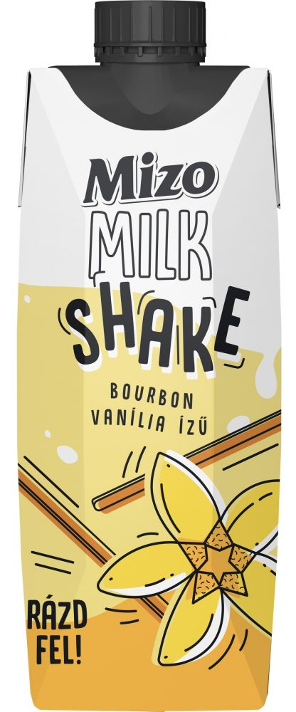 MIZO Milk shake 315ml bourbon vanília