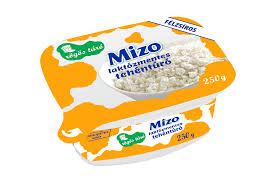 MIZO Laktozmentes turo tégelyes 250g