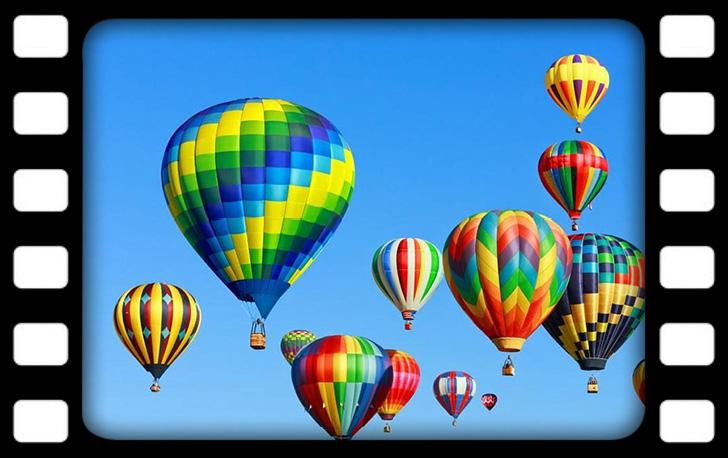 Hőlégballonos sétarepülés