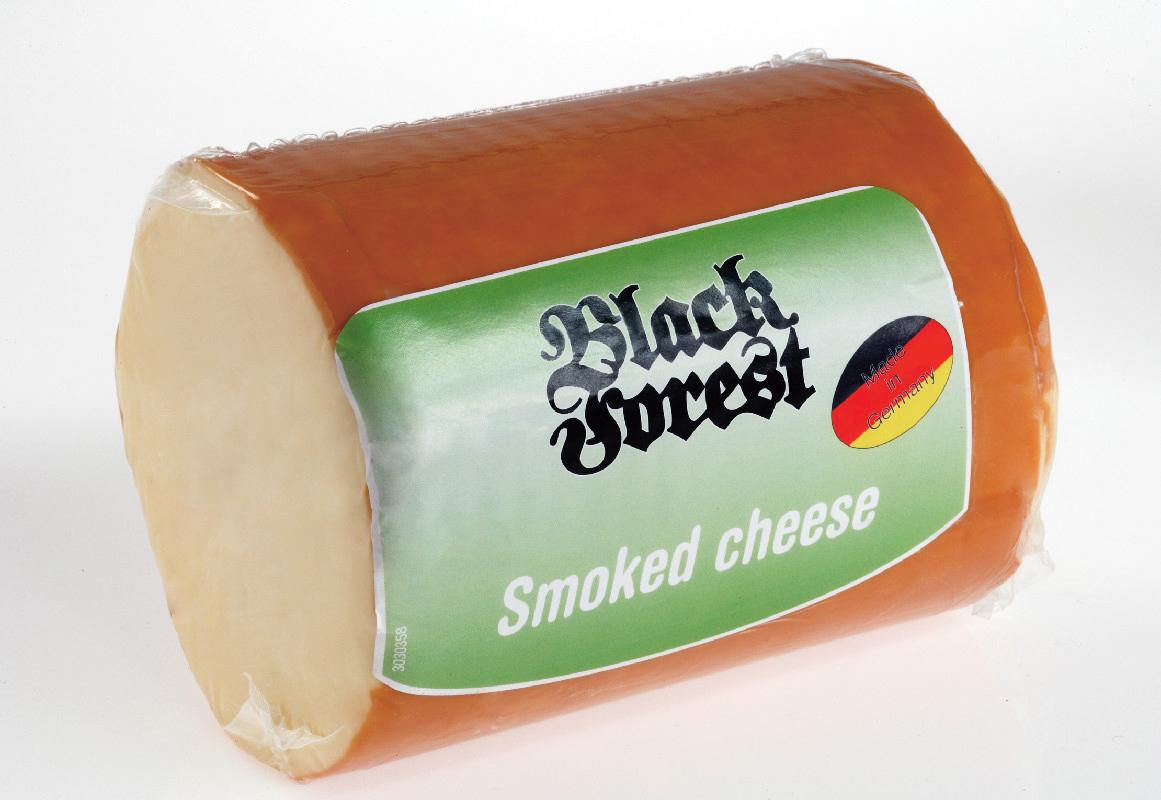 BLACK FOREST Füstölt sajt natúr  2,72kg
