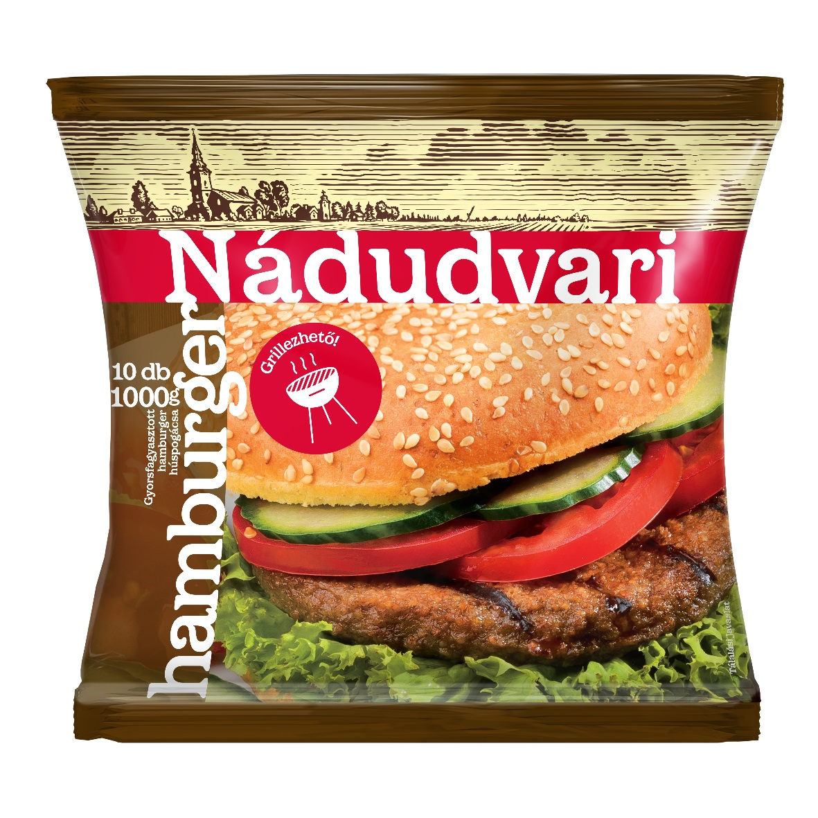 NÁDUDVARI Sertés hamburger 1000g