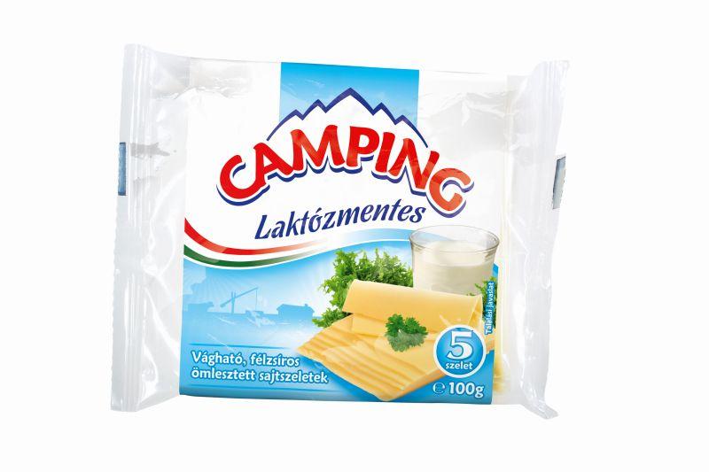 CAMPING Szelt laktozmentes omlesztett sajt 100g
