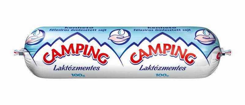 CAMPING Tomlos laktozmentes sajt 100g