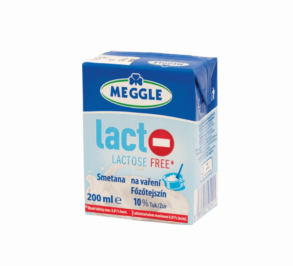 MEGGLE Laktozmentes fozotejszín UHT 20% 200ml
