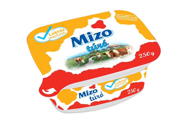MIZO Laktózmentes túró tégelyes 250g