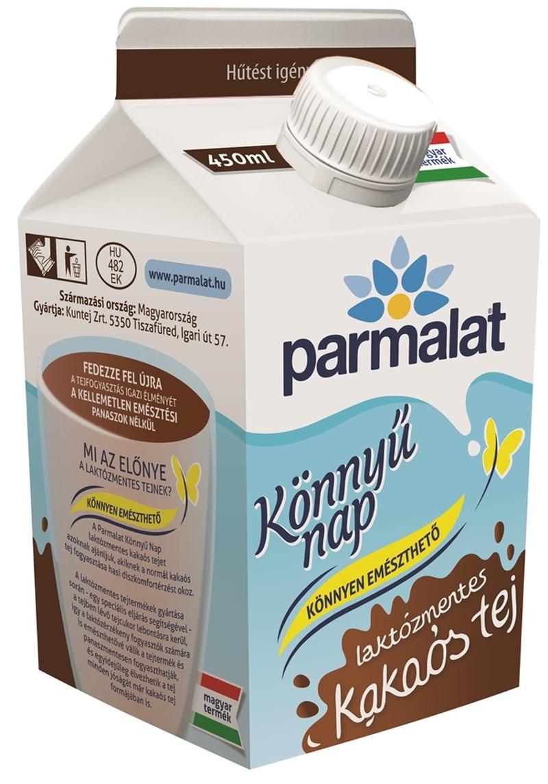 PARMALAT laktozmentes kakaos tej 450ml