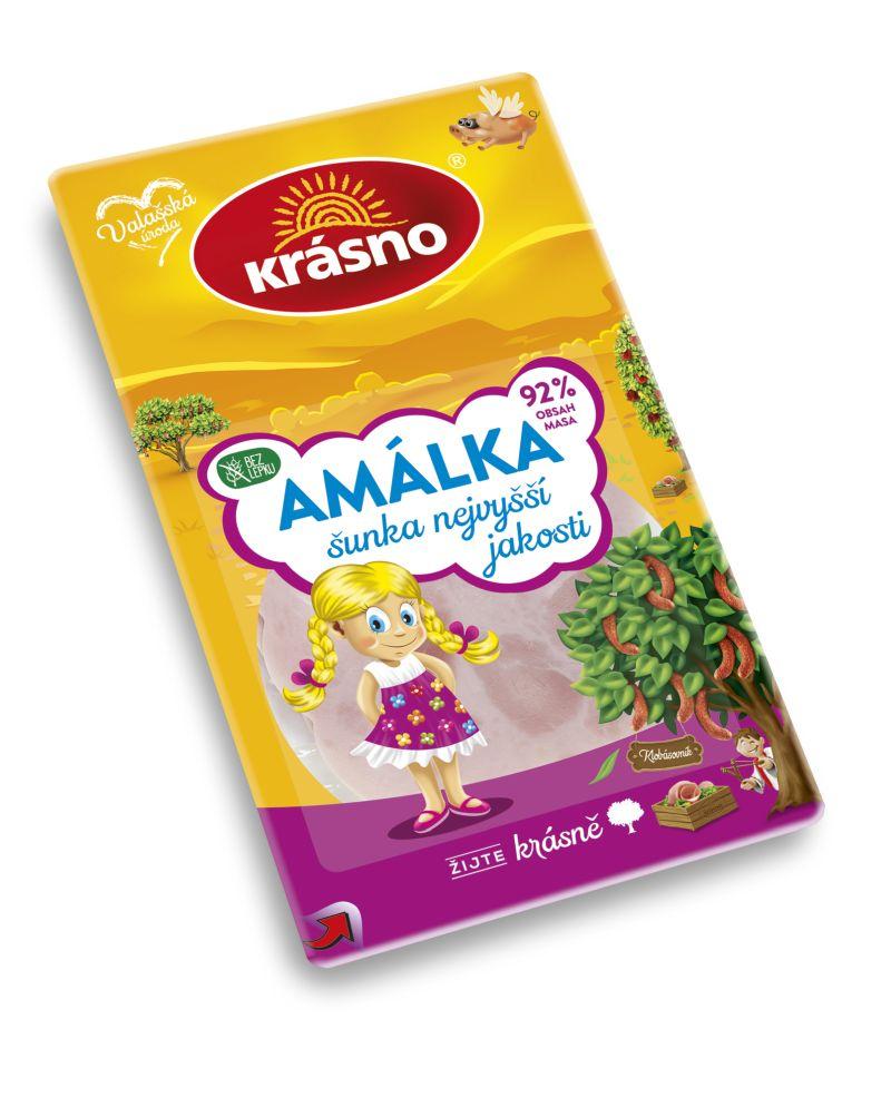 KRASNO szelt legjobb minőségű Amálka sonka (92% hústartalom) 100g