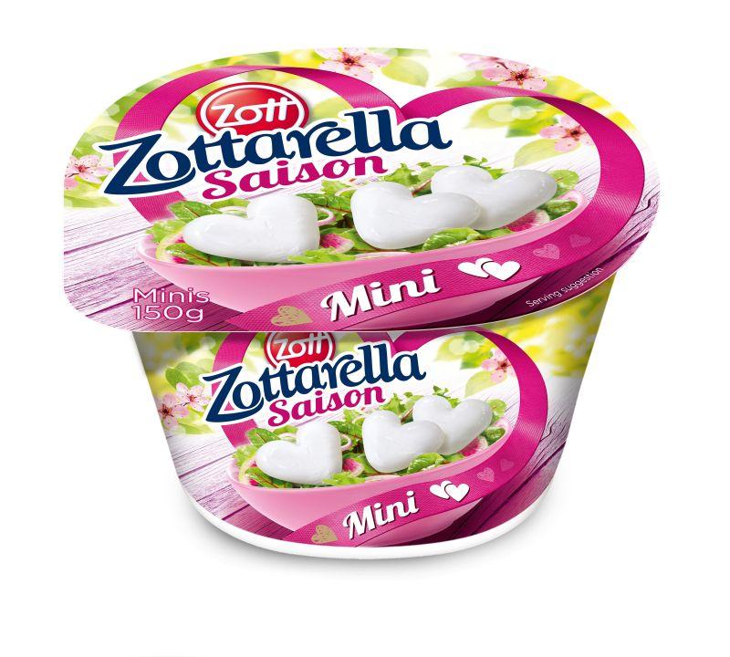 ZOTT Zottarella minis szivecskék 150g