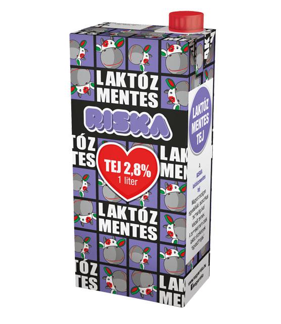 RISKA Laktozmentes UHT Tej 2,8% 1L