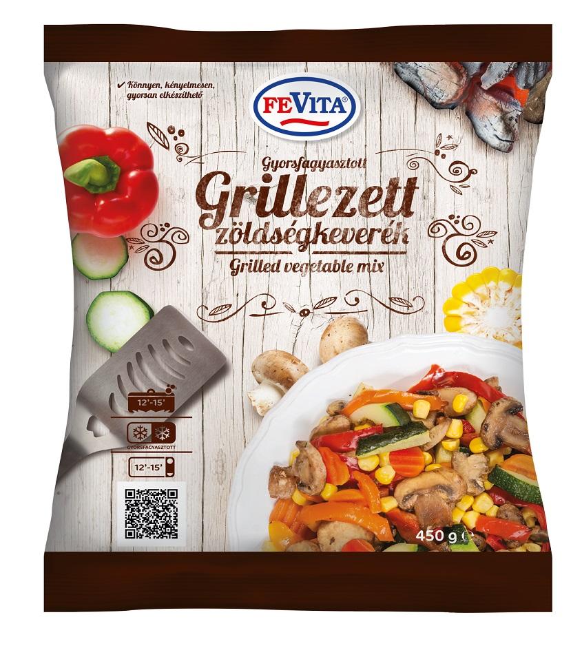 FEVITA Gyorsfagyasztott grillezett zöldségkeverék 450g