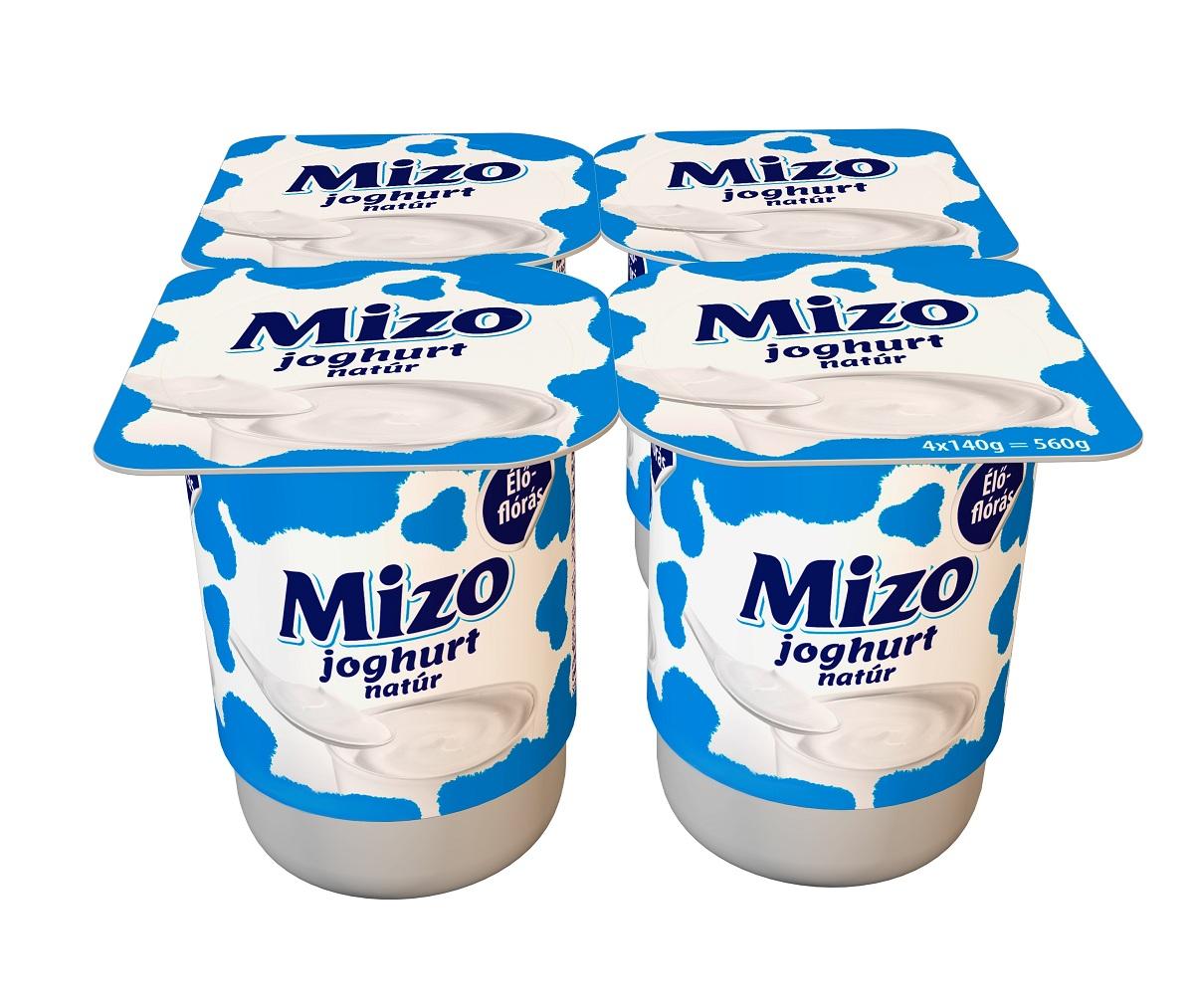 MIZO Joghurt natúr 4x140g