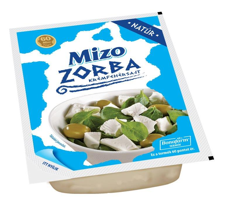 MIZO Zorba krémfehér sajtok 250g