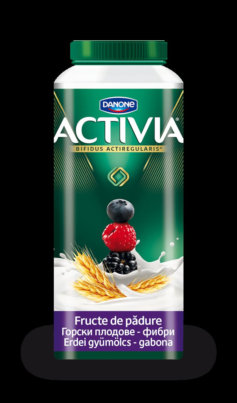 DANONE Activia joghurt ital erdei gyümölcsös 320g