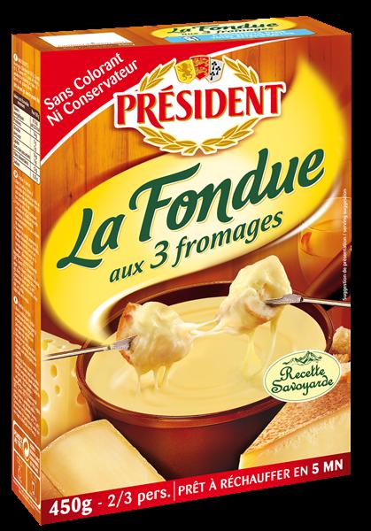PRESIDENT Fondue 450g