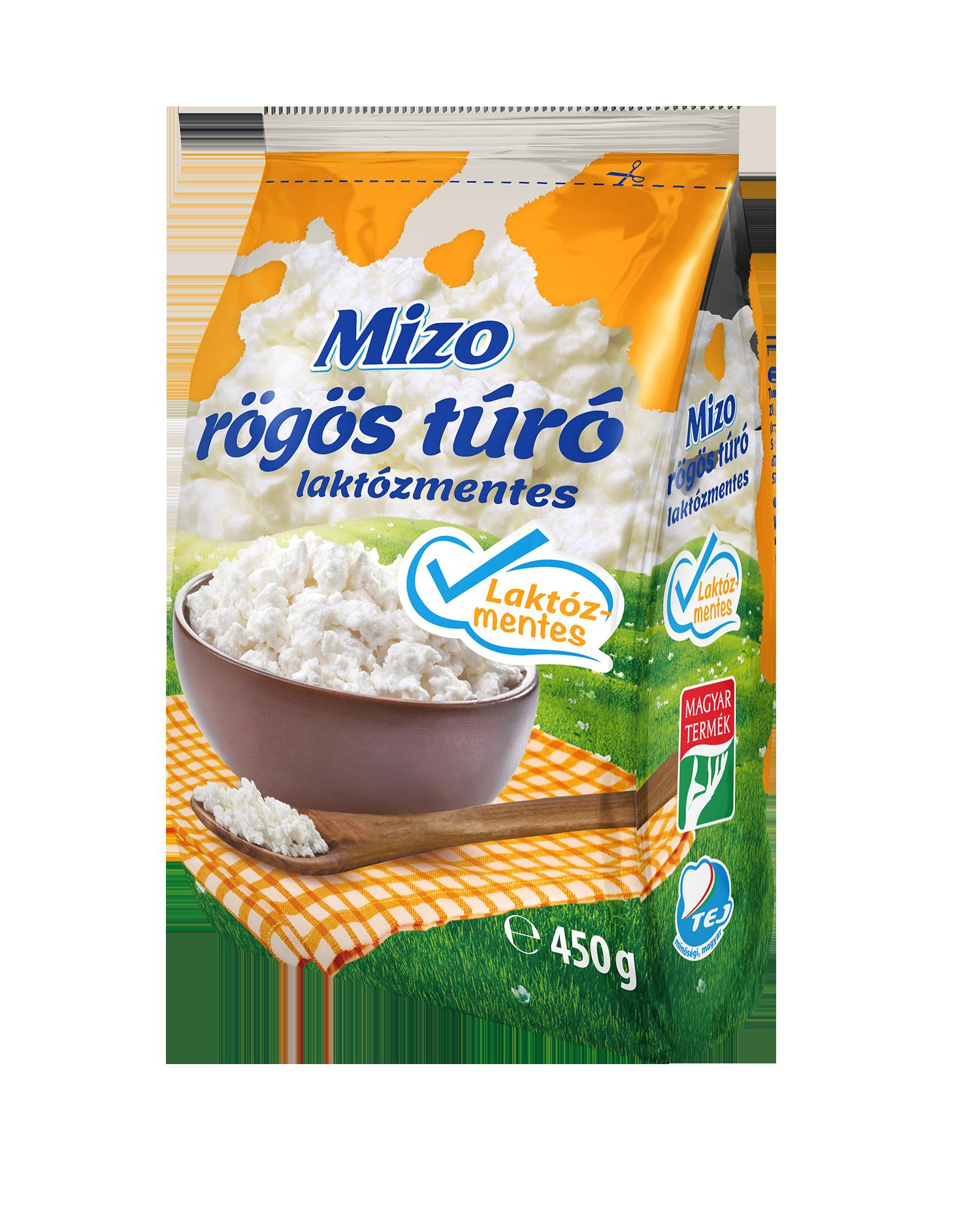MIZO Laktózmentes túró 450g