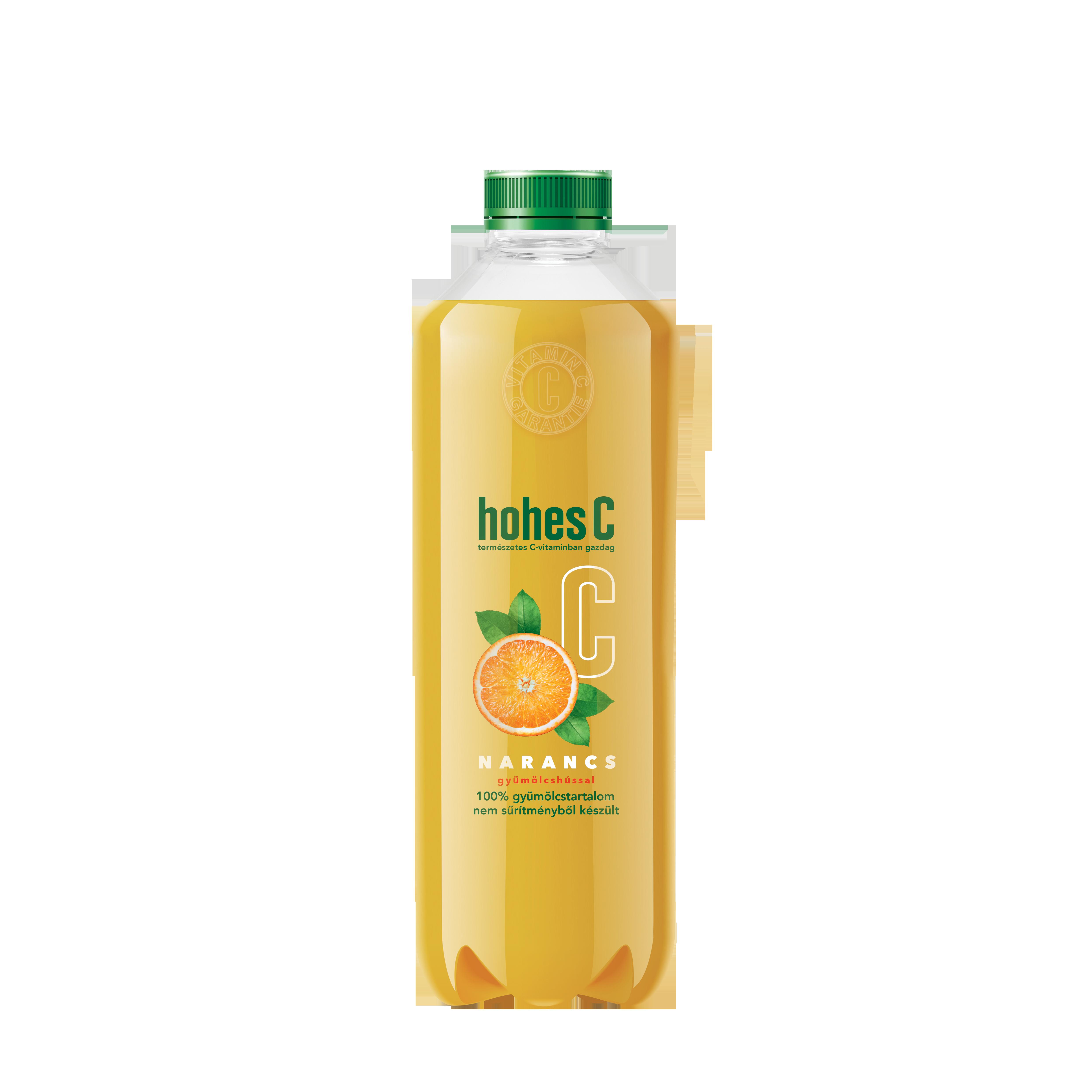 HOHES C Narancs gyümölcshússal hűtött 0,75L