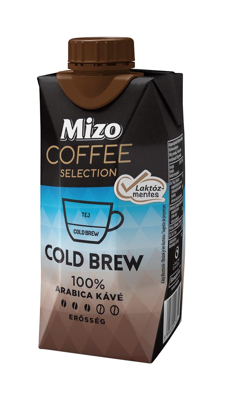 MIZO COFFEE SELECTION Cold Brew Laktózmentes UHT 330ml