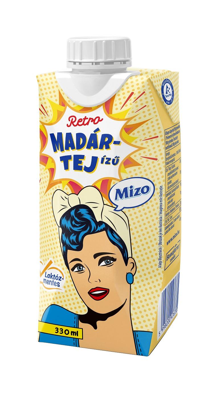 MIZO Retro Madártej Laktózmenetes UHT 330ml