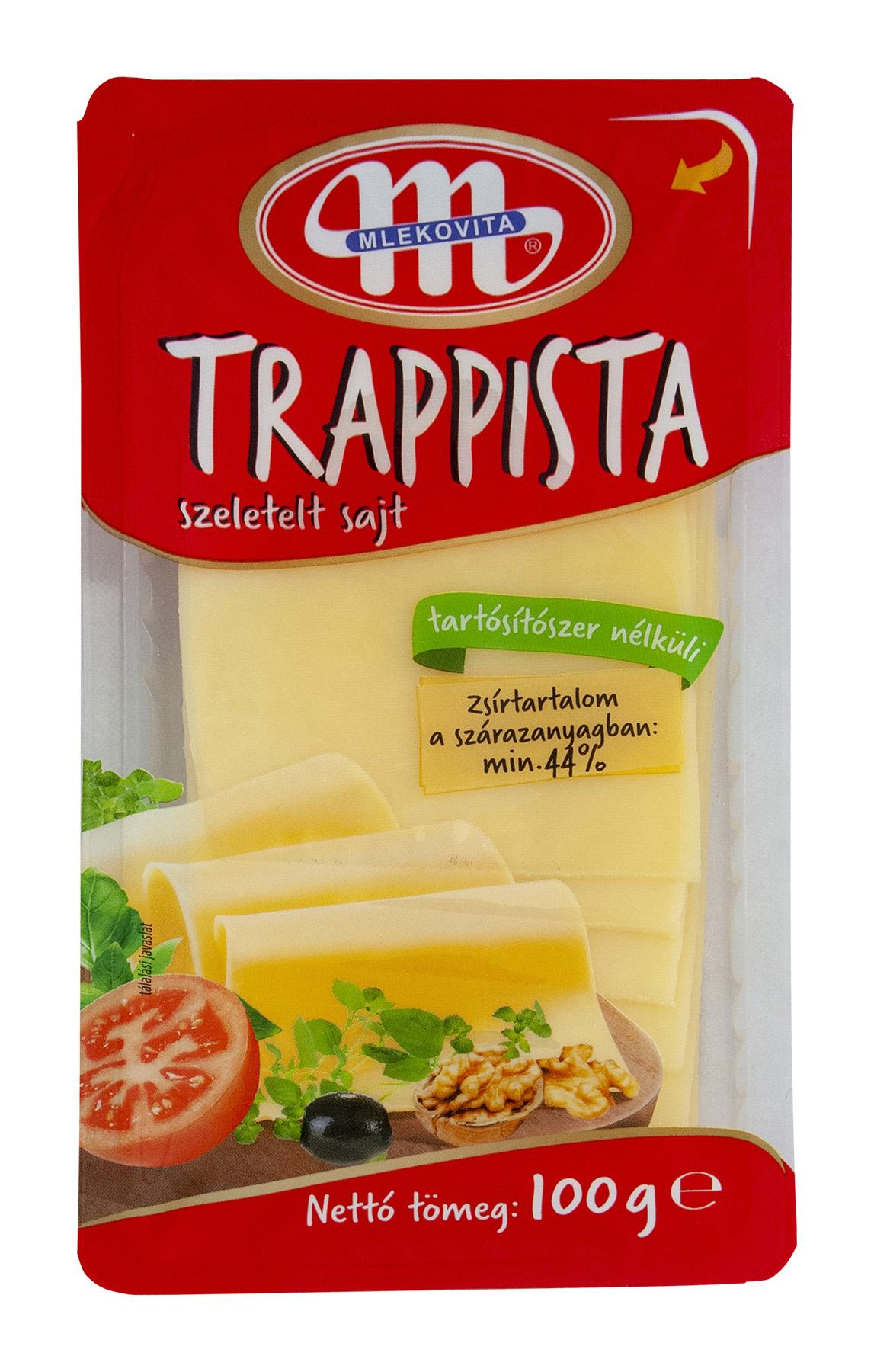 MLEKOVITA Szelt Trappista sajt 100g