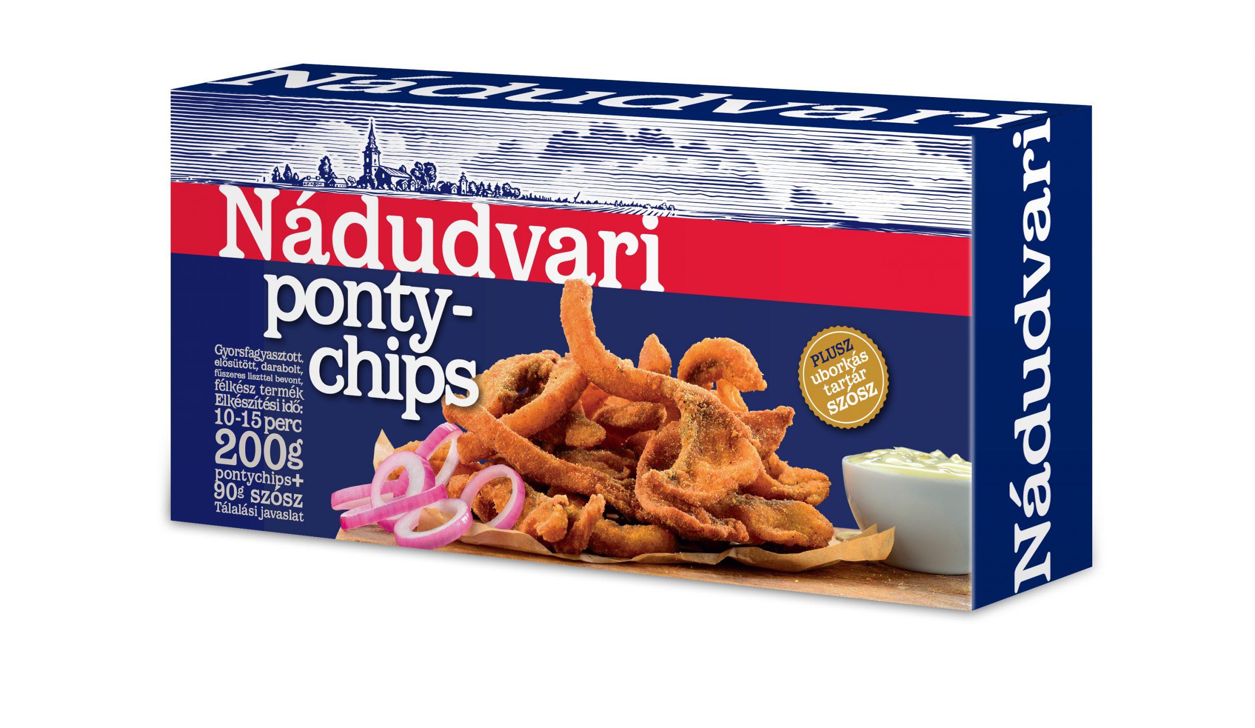 NÁDUDVARI Ponty chips 200g
