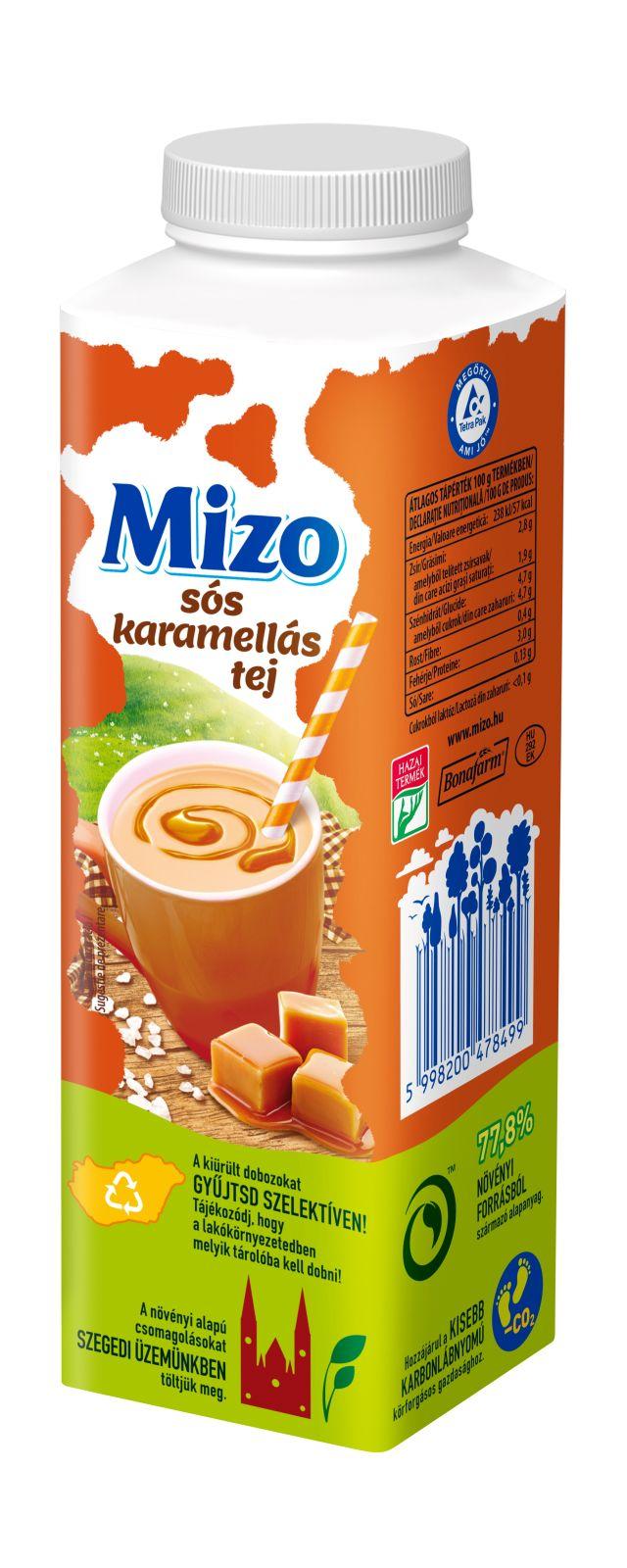 MIZO TOP Ital sós karamellás 450ml