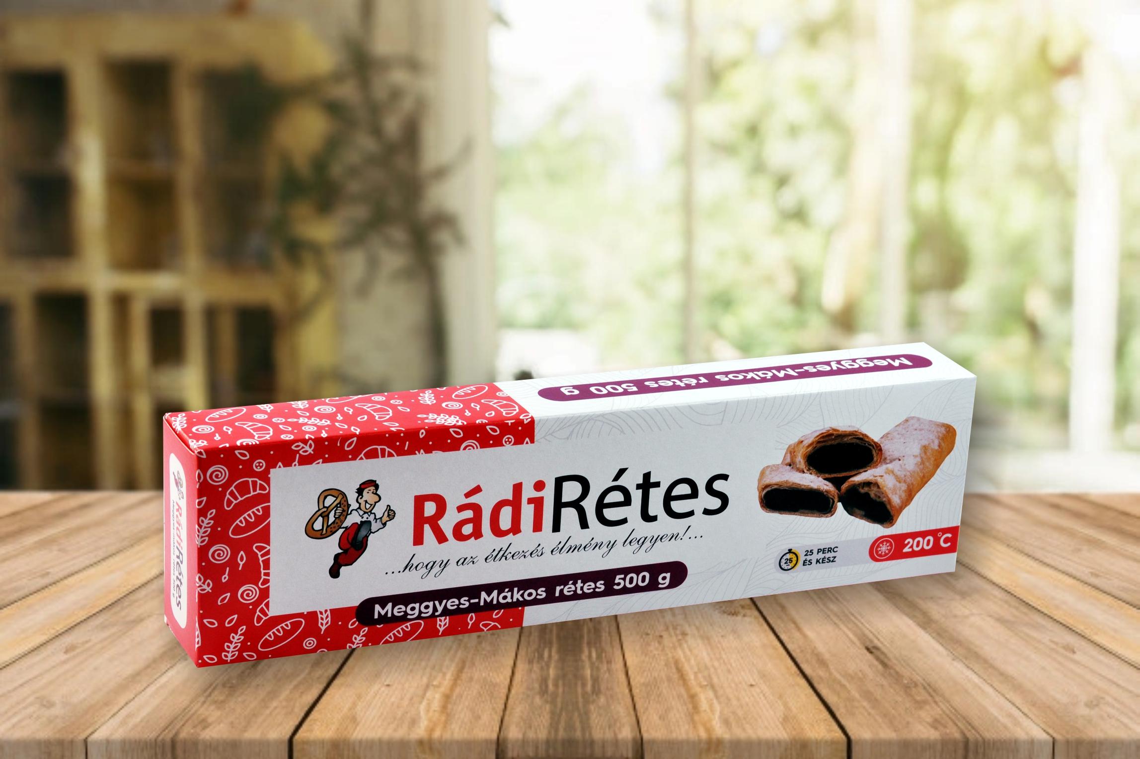 Rádi Rétes fagyasztott több ízben 500g