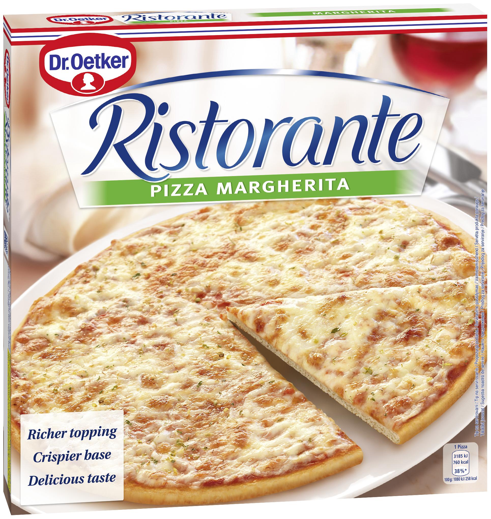 DR. OETKER Ristorante Margherita pizza