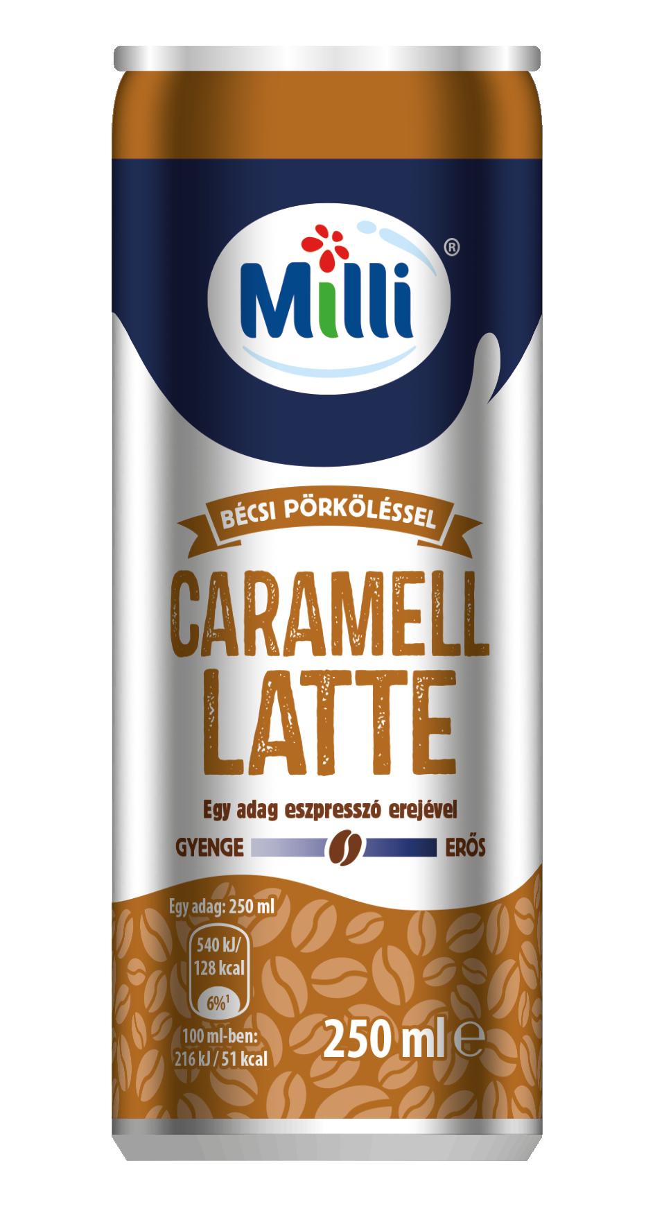 MILLI Caramell Latte 250ml