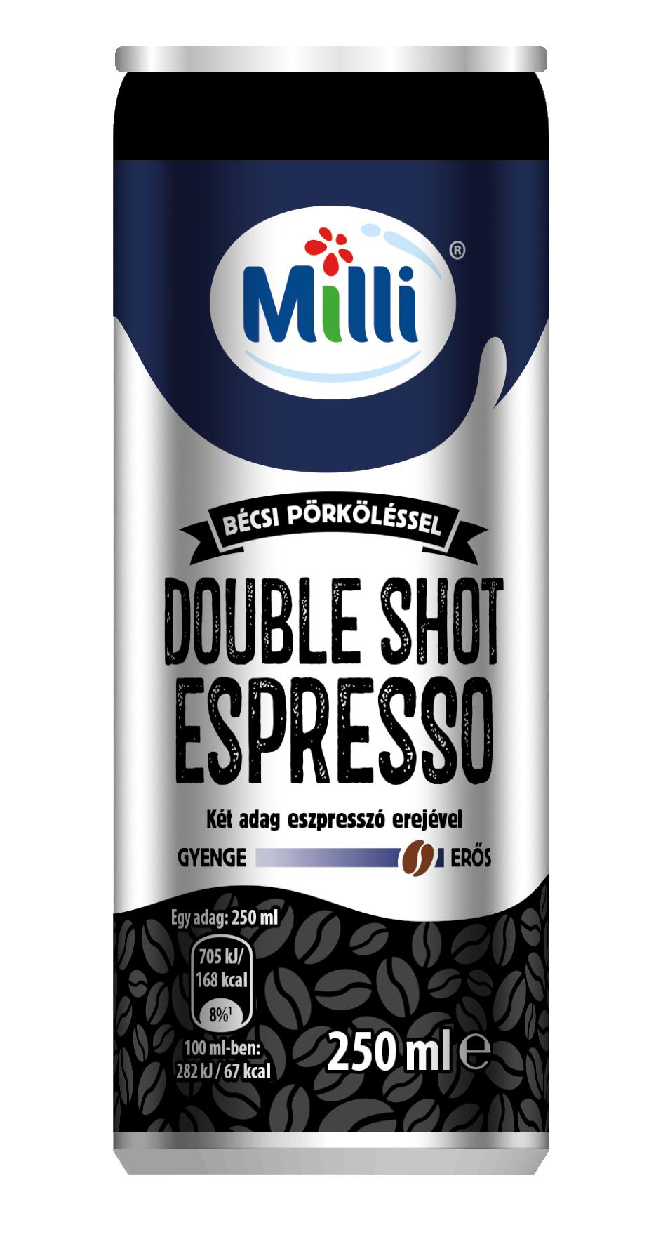 MILLI Double Shot Espresso 250ml