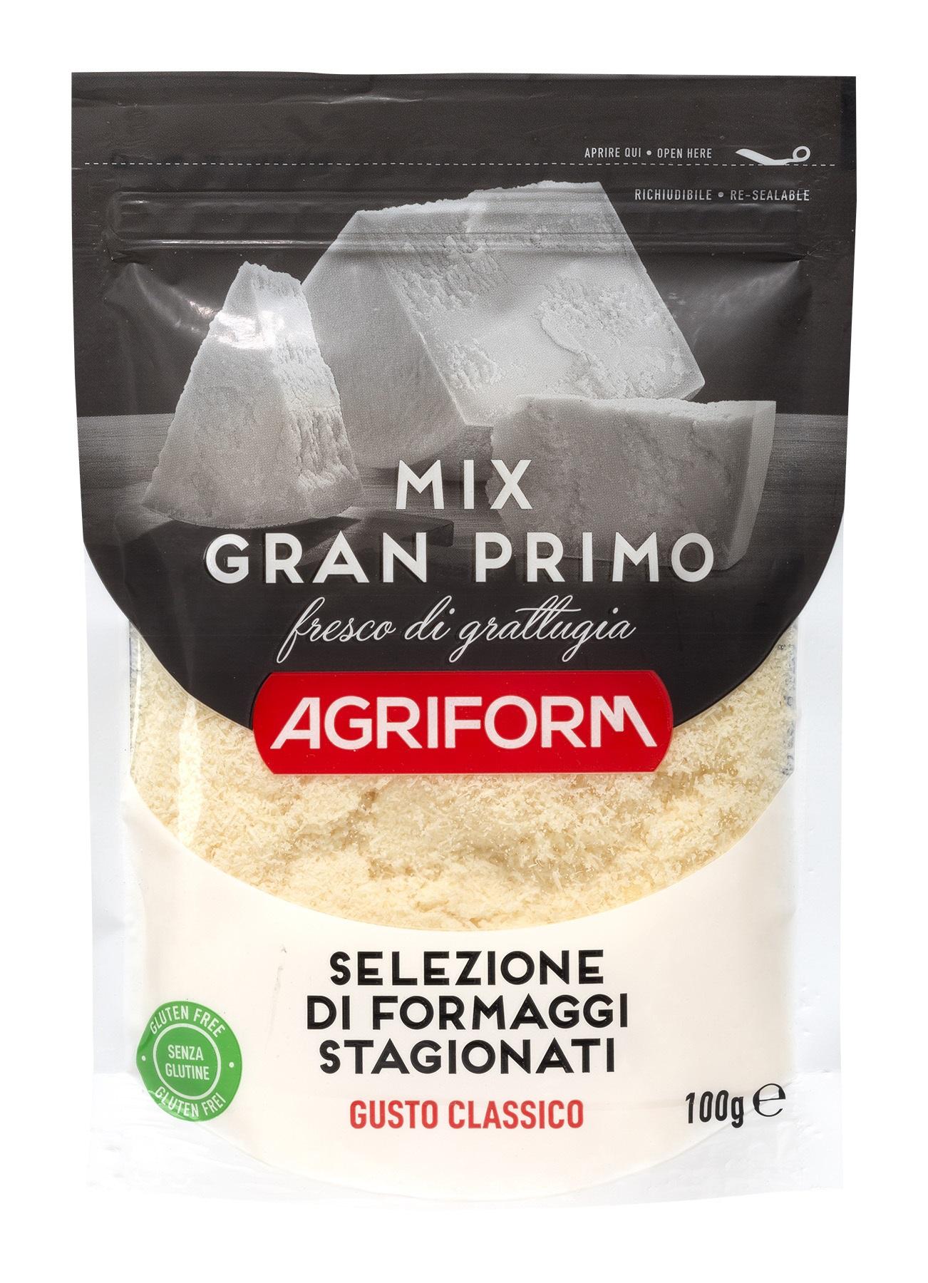 GRAN PRIMO Mix reszelt sajt 100g